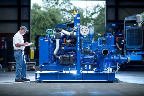 Thompson Pump in Expansion Mode, Plots New-and-Improved Global Headquarters in 2018