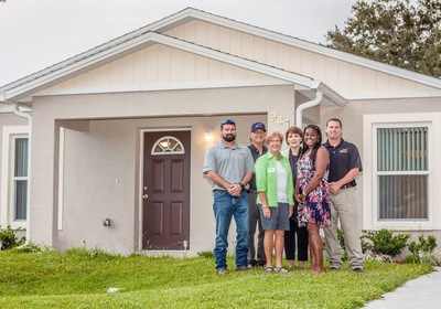 Thompson Pump Employees & Their Families Build Second 2018 Habitat for Humanity Home