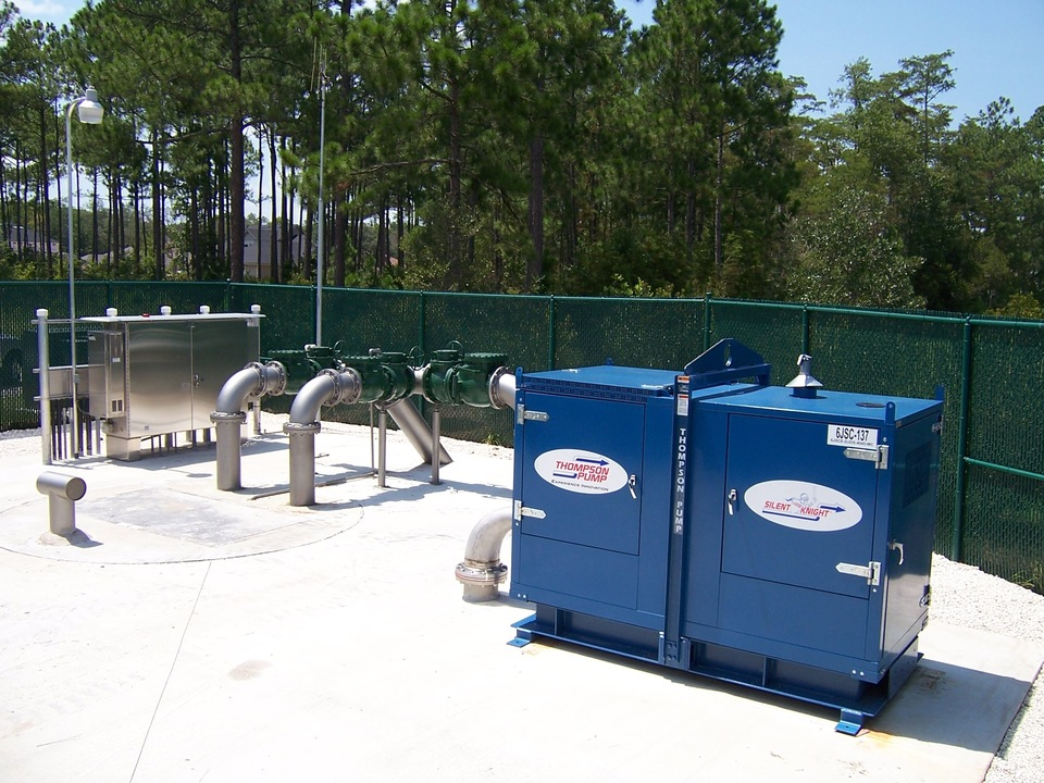 Trash Pump Use In Pump Station Contingency Plans