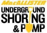MacAllister Underground Shoring & Pump